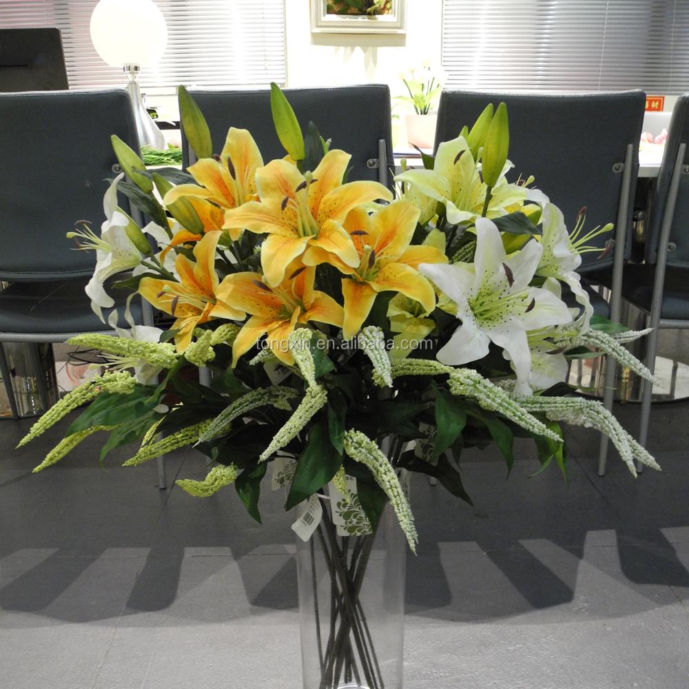 Mixed Varieties Tiger Lily Artificial Flower Arrangement