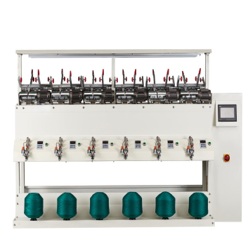 fast speed ac-dc wool winder, thread rewinding machine