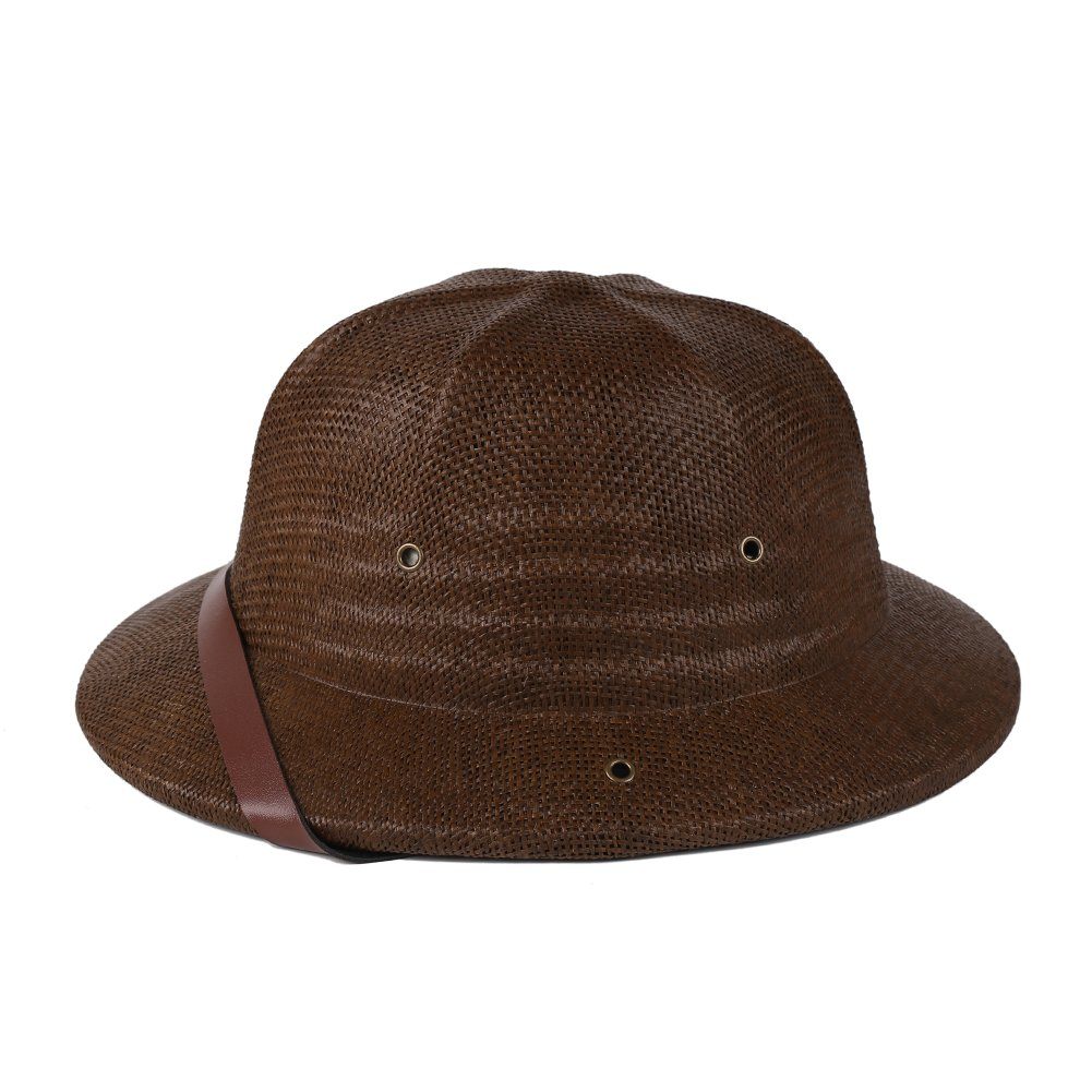 ac82e51542b7b Get Quotations · kainozoic Kids Safari Pith Helmet Costume Party Hat Biking  Hiking Jungle Explorer Cap