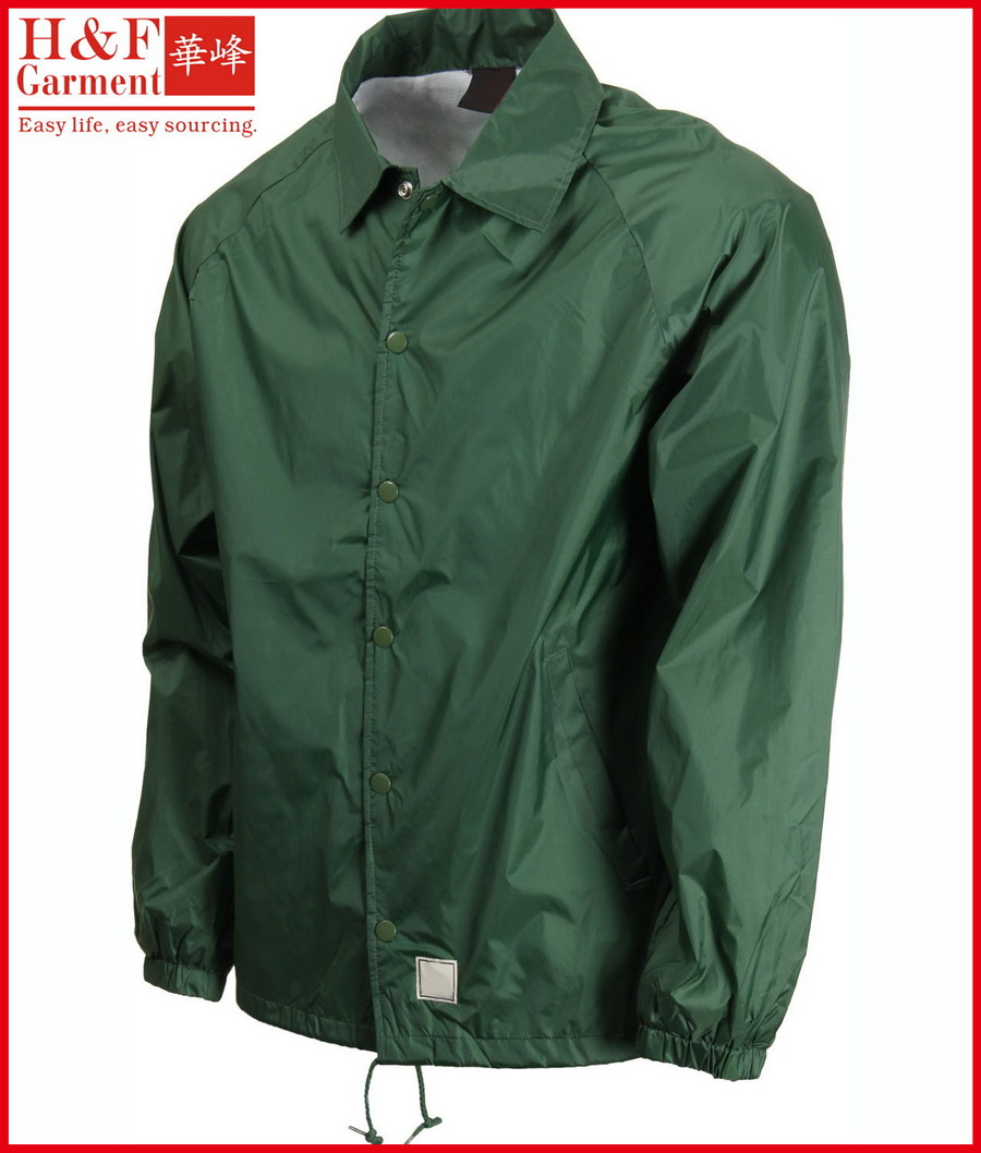 Green Windbreaker Jacket | Outdoor Jacket