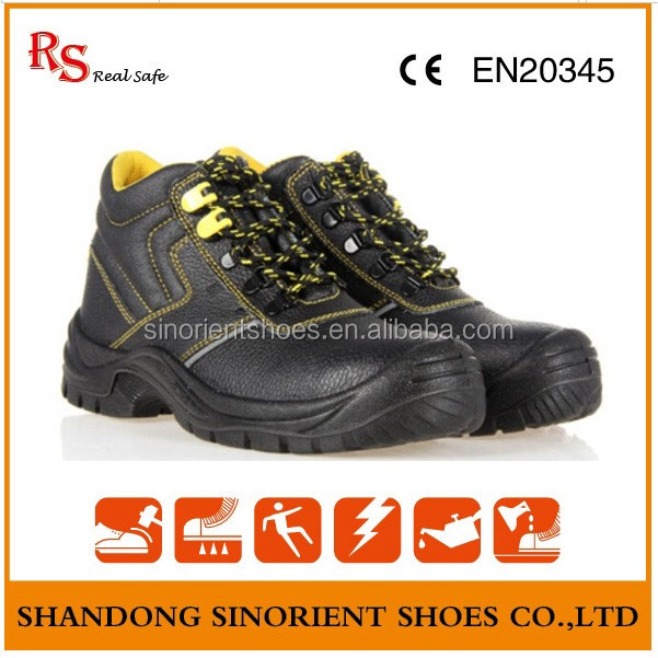 China safety shoe Shandong manufacturer ,Engineering working basic safety shoes Italy RS82