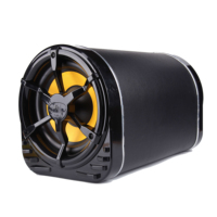 OY-B2210 High Quality 10 inch Bass Tube With Amplifier Car Audio Subwoofer Active Subwoofer