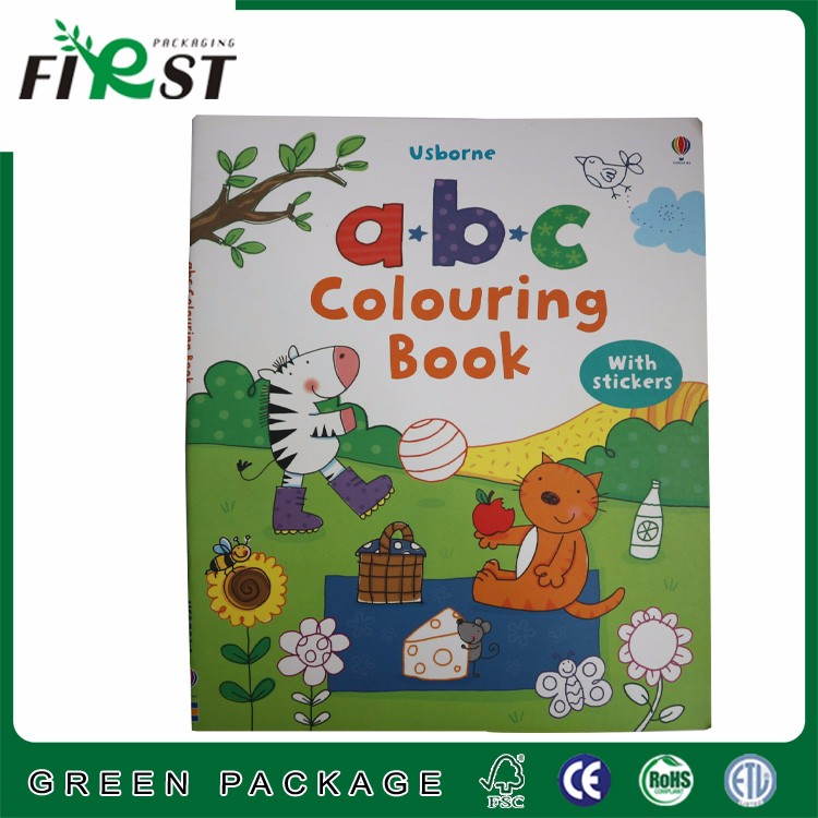 Early Education cartoon coloring books of Children