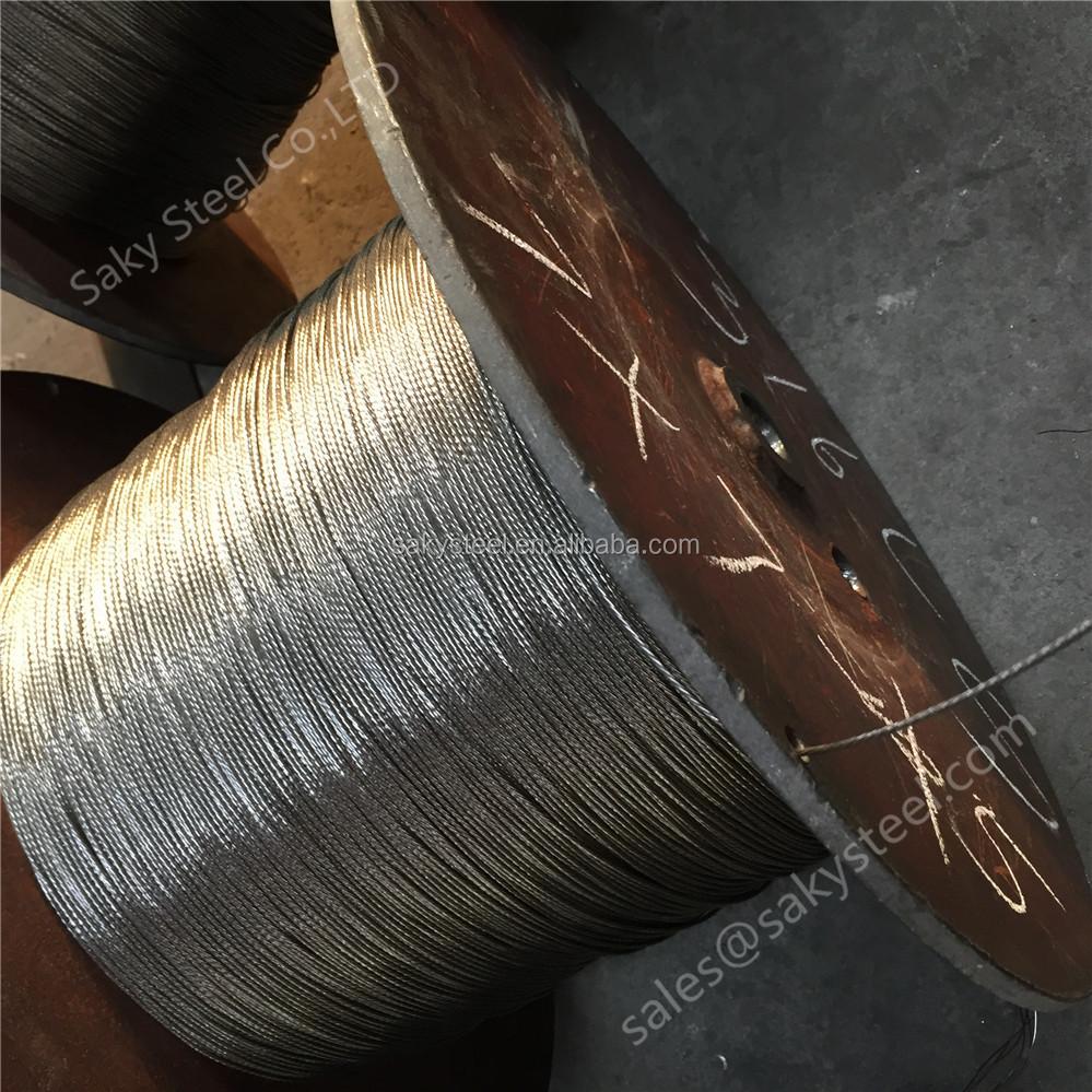 Steel Cable Strength Chart Wire Gauge Rope Capacity - Buy Steel ...