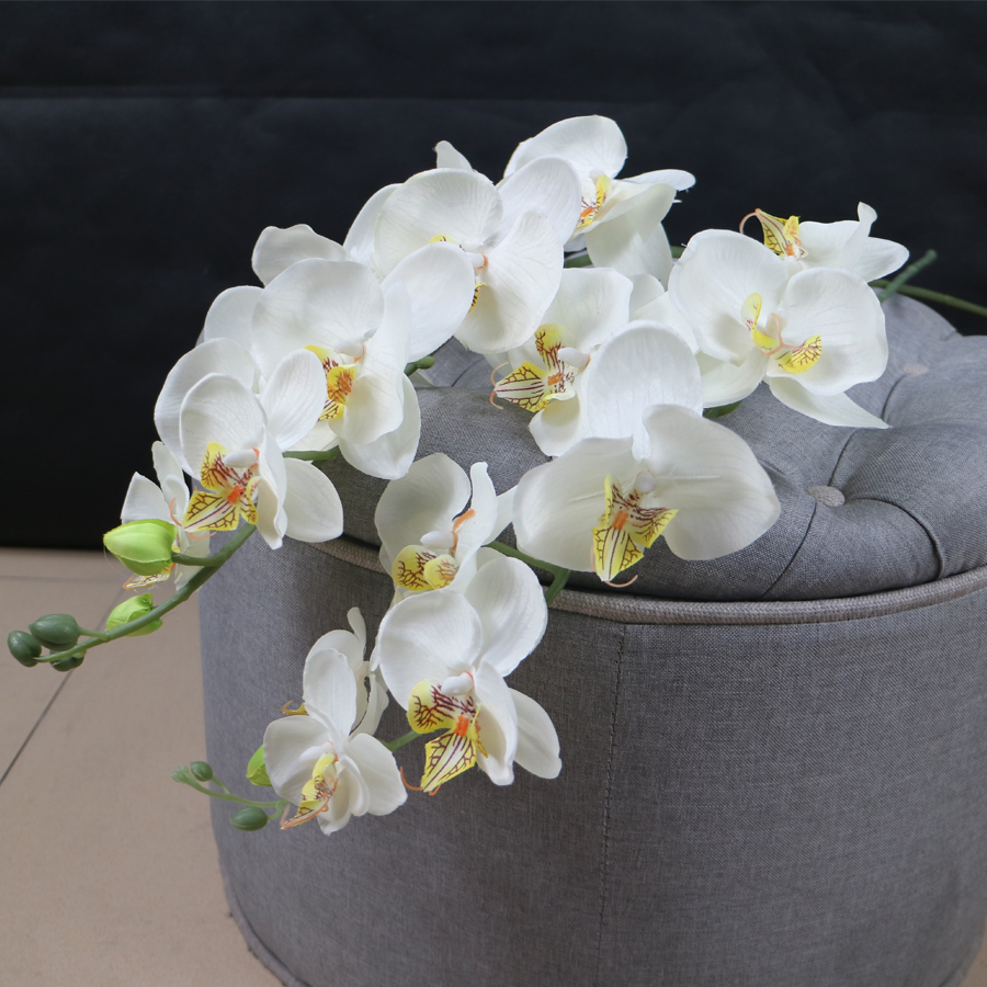 Factory Sale Competititve Artificial Silk Orchid Flowers For Export