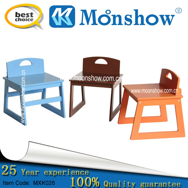 kids small square chair MOONSHOW child furniture
