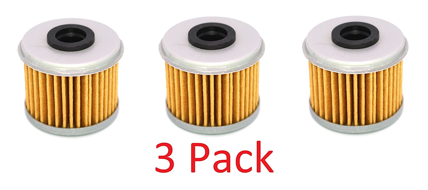 Honda CRF150R CRF150RB CRF250R CRF450R CRF250X CRF450X Oil Filter Filters 116 (3) pack