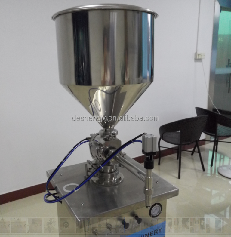 Gear type Semi-automatic Double Pump Liquid Filling Machine