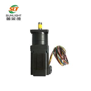 High torque 96V dc brushless planetary gear motor apply for autonomous electric vehicles