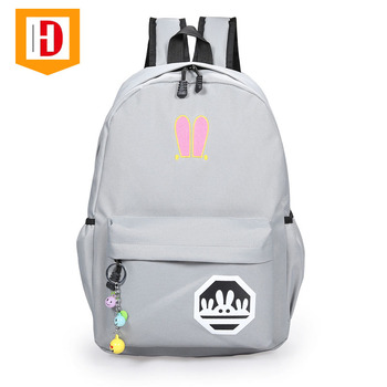 2017 Fashion Canvas College Bags Girls Backpack Kids School Bags For Girls 92cc9338097fe