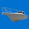 Gather 35ft fiberglass cabin boat,fishing boat for sale