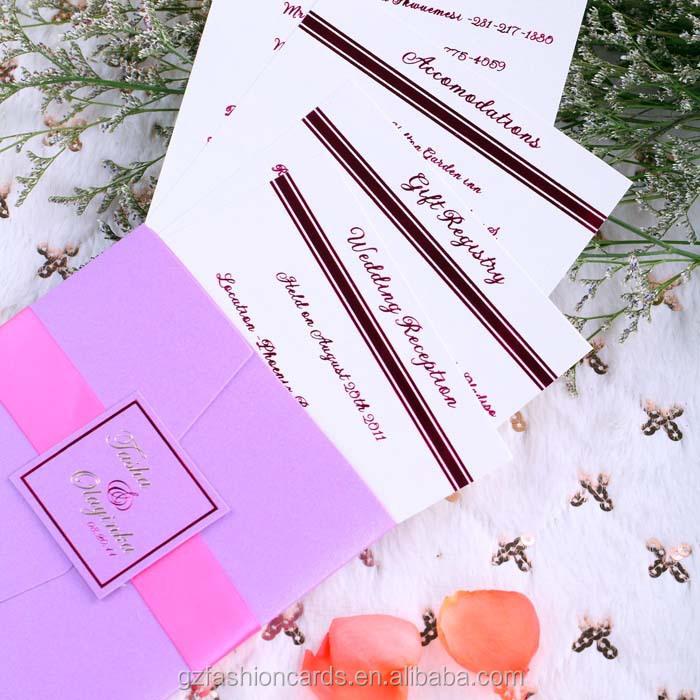 2015 Neuen Design Hochzeit Kundenspezifische Einladung Umschlag ...