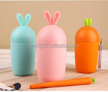 87e782be44286 Smart Personalized Carrot Shape Water Bottle Food Grade For Kids ...