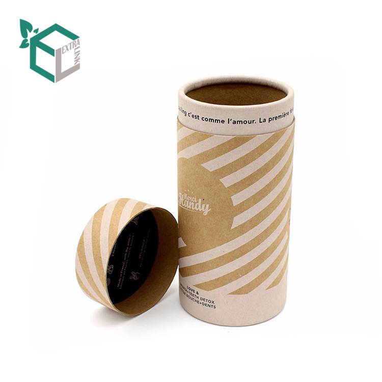 Kraft paper CMYK printing texture paper pencil packaging <strong>tube</strong>