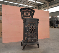 9kw Cast Iron Wood Burning Stove for sale