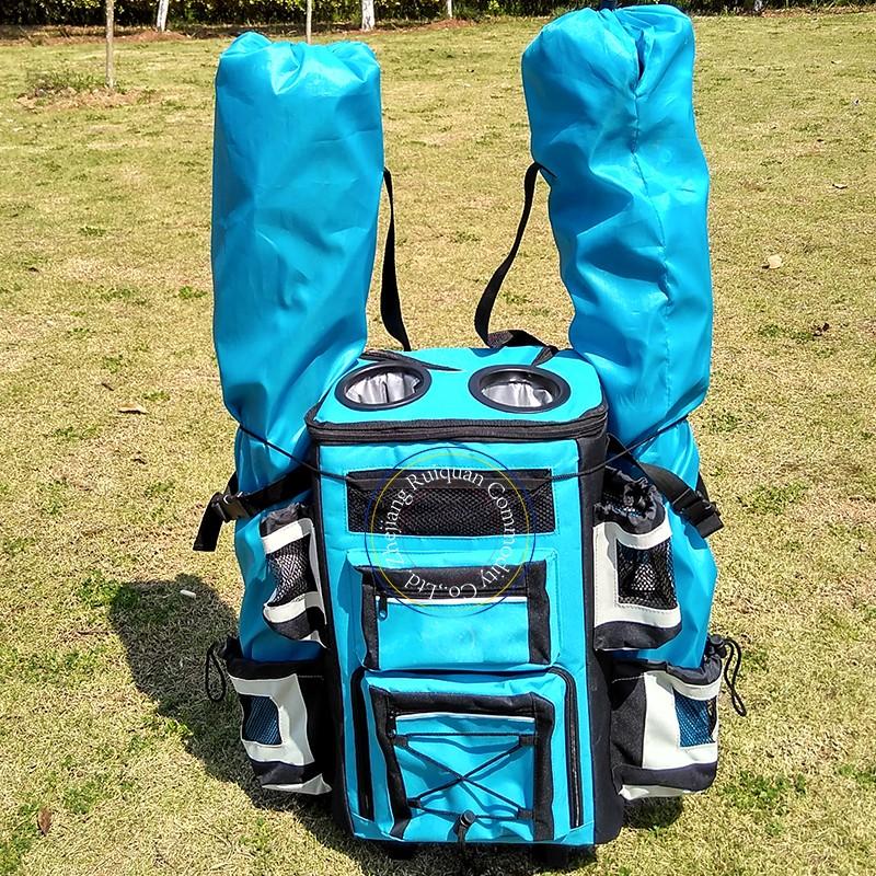 絶縁クーラーバックパック漏れ防止ソフトクーラーバッグ軽量バックパッククーラー昼食のためにピクニックハイキングキャンプビーチ公園