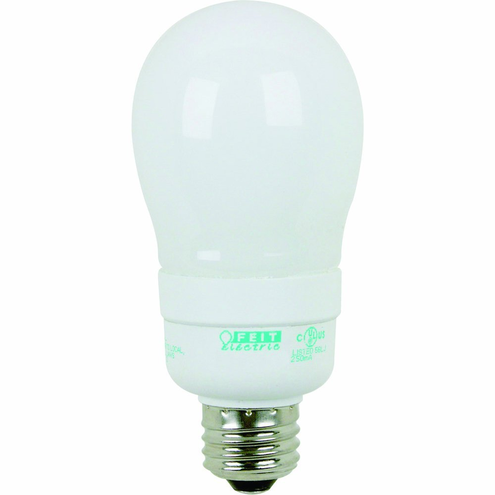 Feit Electric ESL9A 9-Watt A19 Short Compact Fluorescent (40-Watt Incandescent Equivalent)