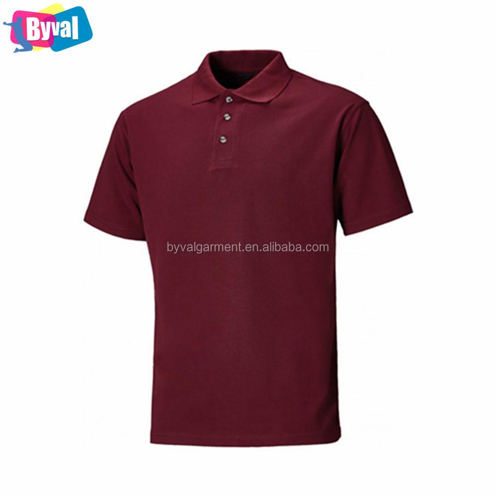 Mens Bulk Sale Custom Embroidered Polo Shirt Two Tone Collar Yarn