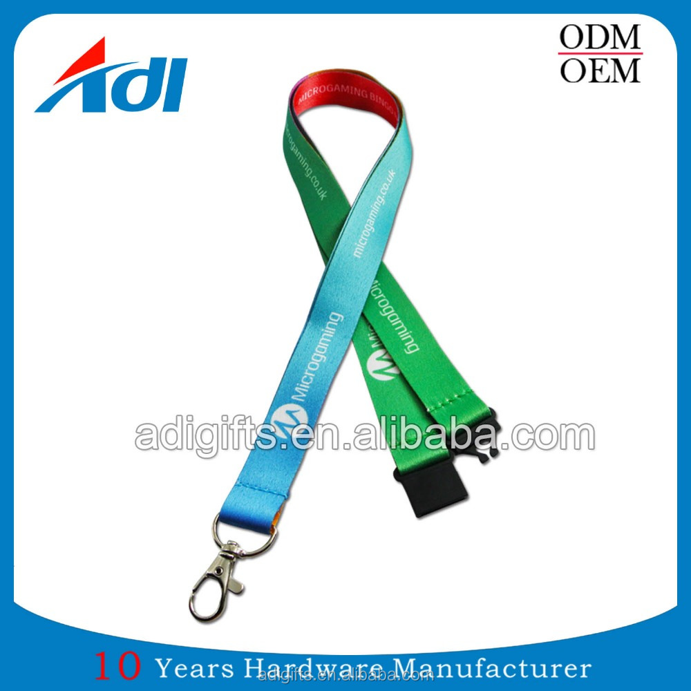 custom high quality manufacturer id card pvc logo cat lanyards