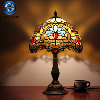 Beautiful Home Good Stained Glass Table Lamps Wholesale For Christmas Interior  Decoration