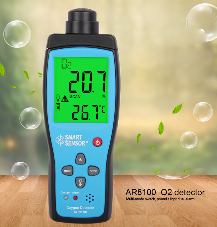 Measuring Room Oxygen Level Meter Dissolved Oxygen Flow