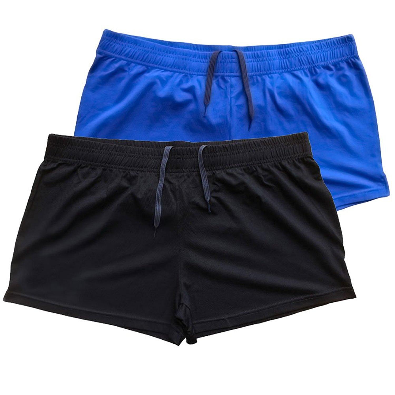 af4e86119a7 Get Quotations · Slimbt Mens Bodybuilding Workout Shorts 3