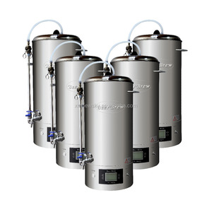 Beer mash tun brewing system