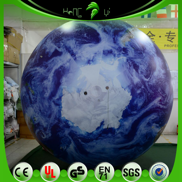 Eye catching giant inflatable world map balloonshelium balloon eye catching giant inflatable world map balloons helium balloon planet balls with led lighting gumiabroncs Gallery