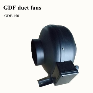 High duct fan for hydroponic grow room ventilation