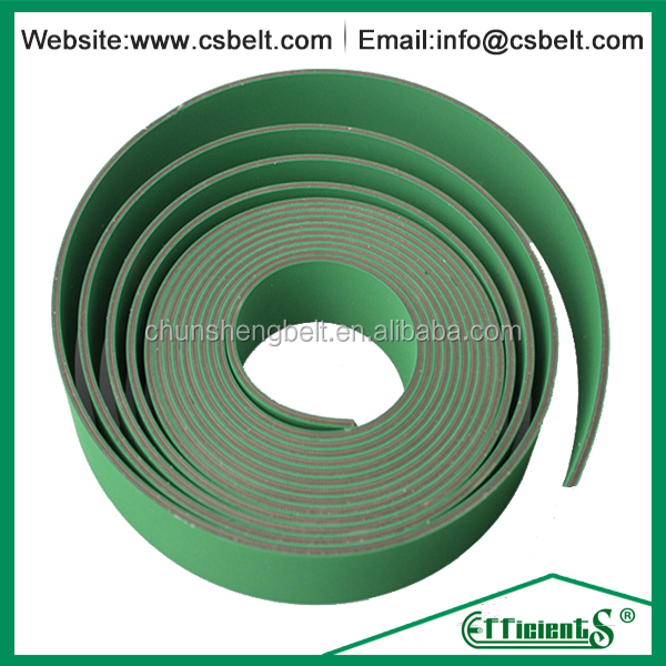 Green nylon rubber transmission abrasion resistant belt