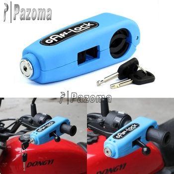 Pazoma Caps Lock Motorcycle Bicycle Scooter Handle Bar Brake Lever