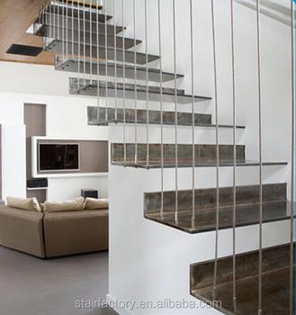 Escalier Moderne,Escaliers Intérieurs Métalliques Marches Escalier  Flottant,Ts-323 - Buy Rampes Intérieures En Bois,Marches D\'escalier ...