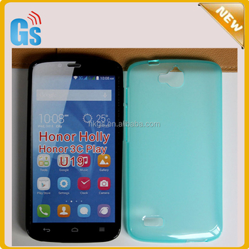 online retailer b0cd5 b58b9 Candy Colorful Jelly Tpu Case For Huawei Honor Holly Soft Back Cover For  Huawei Honor 3c Play Edition U19 - Buy Tpu Case For Huawei Honor Holly,For  ...
