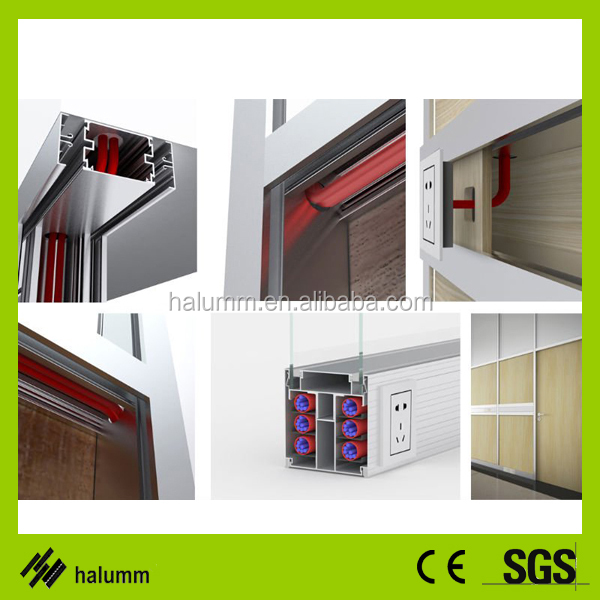 Aluminum Profile Used Office Partition Glass Walls Folding Doors Room  Dividers - Buy Folding Doors Room Dividers,Aluminum Profile Folding Doors  Room