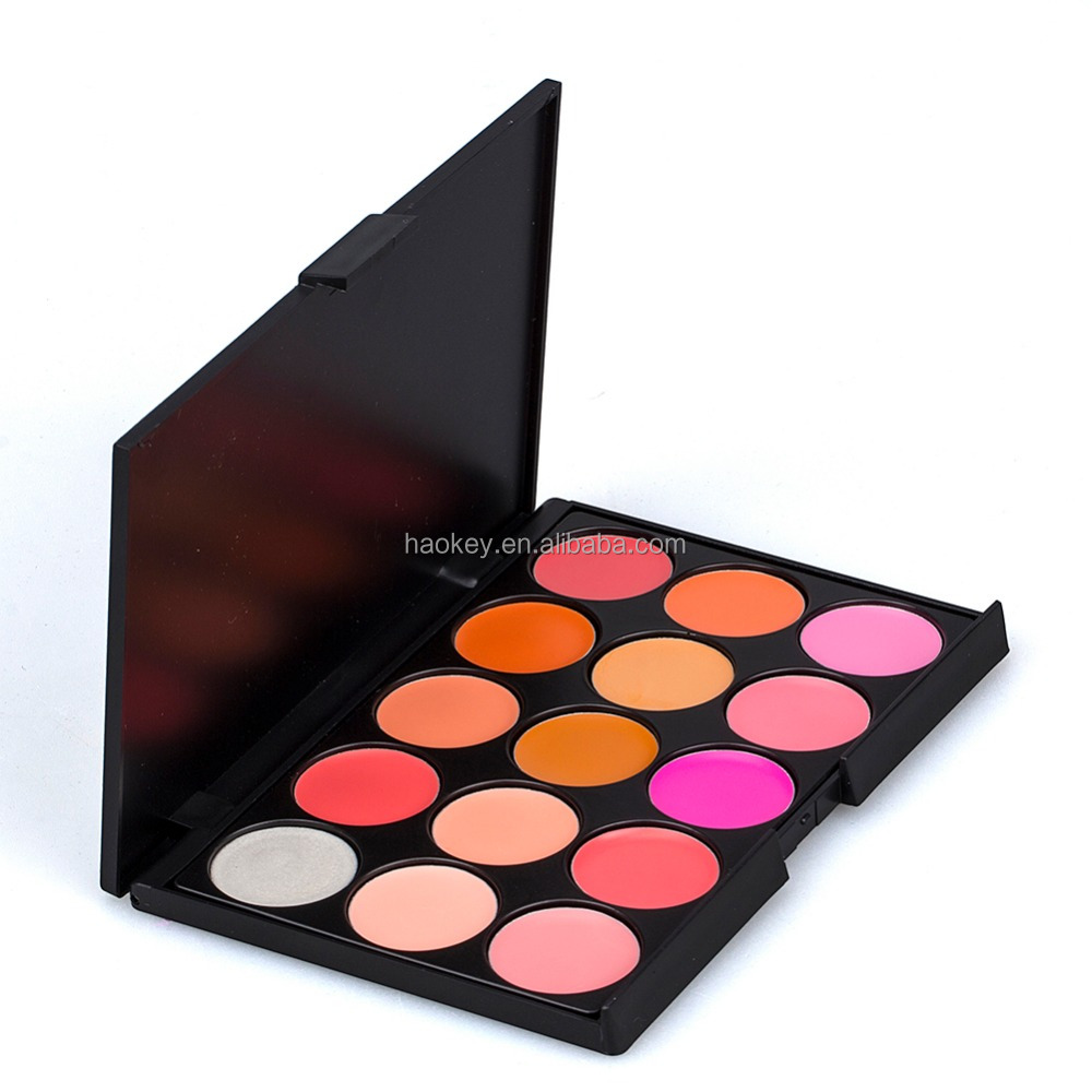 Pro mineral eyeshadow makeup 15 color waterproof eye shadow palette
