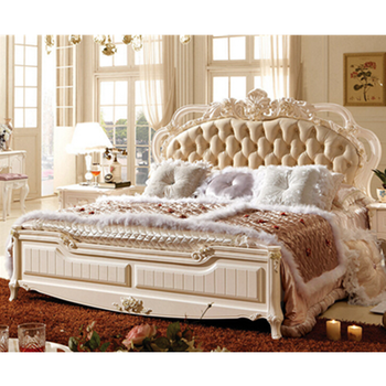 Rococo Nedroom Furniture King Size Bed
