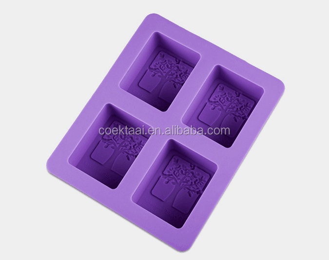 Rectangle tall and skinny silicone mold soap silicone mold for soap make