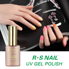 R S Nail uv or led soak off fast gel polish, made by Chinese uv gel manufacturer
