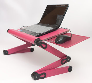 New Portable Desk Laptop Table Stand Bed Tv Tray Work Station Buy