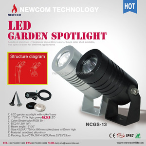 3w High Power Led Garden Light/led Lawn Lights For Courtyard/project/garden