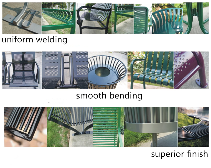teak park benches outdoor wrought iron bench teak wood and stainless steel park