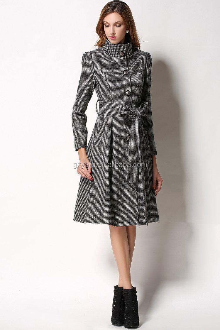 Latest Models Women Ladies Coats Warm Long Coat Jacket ...