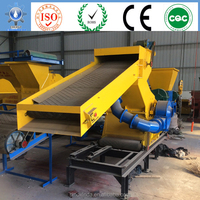 rubber crumb process for grinding scrap tires into rubber granule