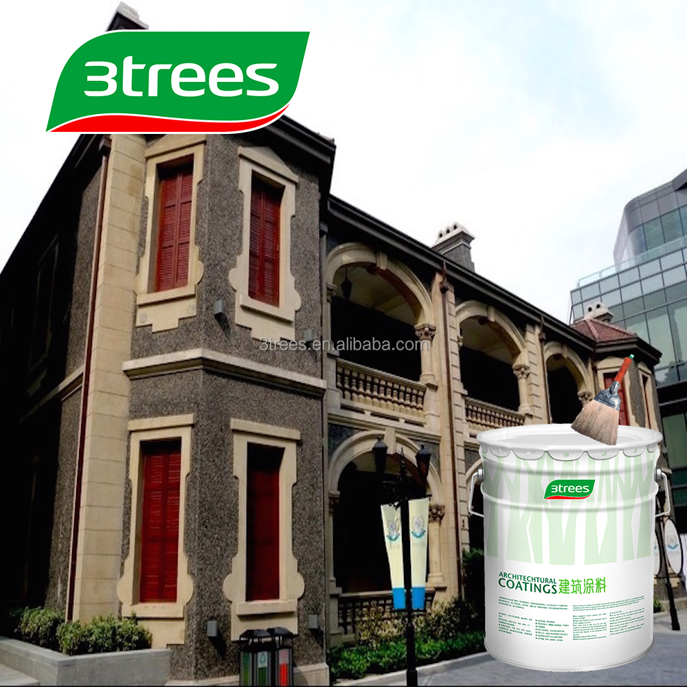 3TREES Hot Selling Anti-Mould Exterior Concrete Sealer coating
