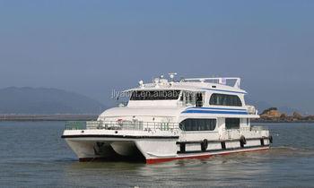New 35m Aluminum Alloy Catamaran Passenger Boat,Water Taxi For Sale - Buy  Passenger Boat,Passenger Ferry,Aluminum Catamaran Boat Product on