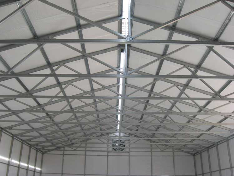Steel Roof Trusses Amp 10 Wide Gambrel Roof Truss Outside