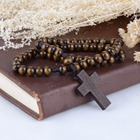 A&J Professional design high quality religious cross rosary,wooden rosary,Catholic rosaries.