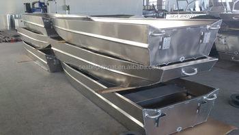 Oem 10ft To 20ft Welded Aluminum Jon Boat,10ft Flat Bottom Aluminum ...