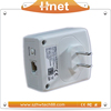 Fast homeplug av 500Mbps PLC Modem Telecommunication Powerline adaptor network ethernet extend bridge kit