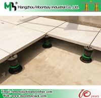 raised adjustable tile decking floor price system pedestal support 2Ton 20 years work life